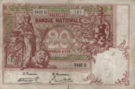 België P67 20 Francs Model 1894