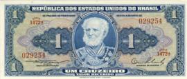 Brazilië P150a 1 Cruzeiro (old) 1954-1958