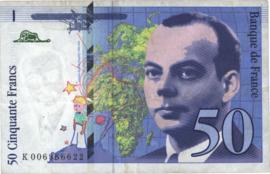Frankrijk P157.b 50 Francs 1992-93