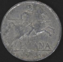 KM#765 Spanje 5 Centimos 1940-1953
