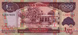 Somaliland P20.a 1.000 Shillings 2011-2015