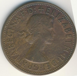 Engeland 1 PENNY 1964 KM# 897