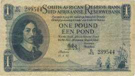 Zuid Afrika P92.d 1 Pound ND (1948-1959)