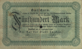 Zwickau 5350.1a 500 Mark 1922