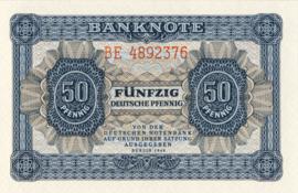 DDR Ros339b 50 Pfennig 1948 DN B1b