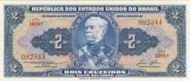 Brazilië P151b 2 Cruzeiros (old) 1954-1958