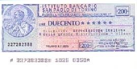 l'Istituto Bancario San Paolo di Torino
