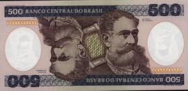 Brazilië  P200 500 Cruzeiros 1981-85 (No date)