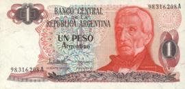 Argentinië P311.b 1 Peso Argentino 1983-84 (No date)