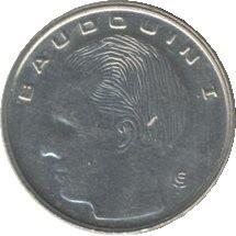 Belgique KM170 1 Franc 1989-1993