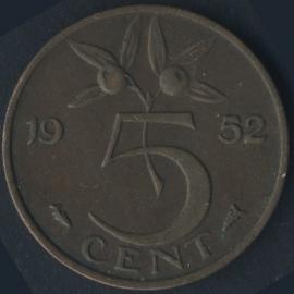Sch.1202 5 Cent 1952