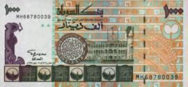 Soedan P59.c 1.000 Dinars 1996/AH1416
