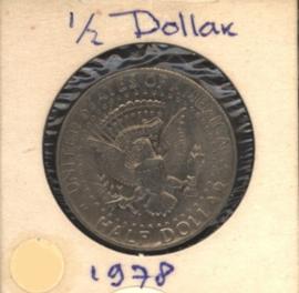 VS/USA ½ Dollar 1978 KMA202b