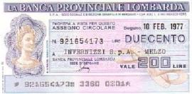 La Banca Provinciale Lombarda