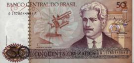 Brazilië  P210 50 Cruzados 1986-88 (No date)