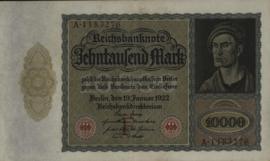 Duitsland P70 10.000 Mark 1922-01-19 Ros.068.a DEU-76