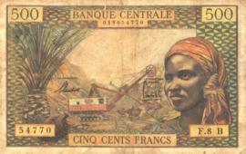 Equatoriaal Afrikaanse Staten P4.f 500 Francs 1963 (No date)
