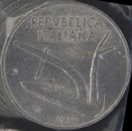 Italië KM#93 10 Lire 1972R