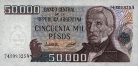 Argentinië P307 50.000 Pesos 1979-83 (No date)