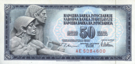 Joegoslavië P89.b.M 50 Dinara 1978