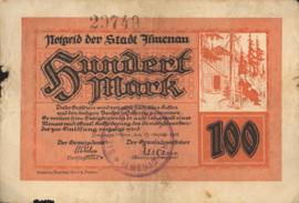 Ilmenau 2190.2.c 100 Mark 1922