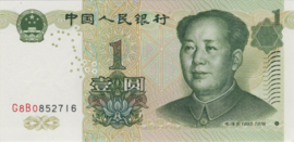 China - Volksrepubliek P895b 1 Yuan 1999