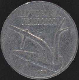 Italië KM#93 10 Lire 1955R