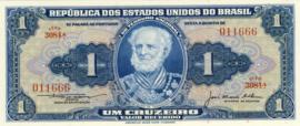 Brazilië P150c 1 Cruzeiro (old) 1954-1958