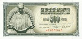 Joegoslavië P91.b 500 Dinara 1978-1986
