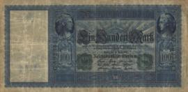 Duitsland P43 100 Mark 1910