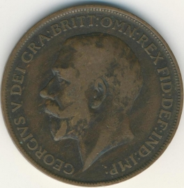 Engeland 1 PENNY 1912 KM# 810