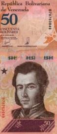 Venezuela P105.a 50 Bolivares 2018