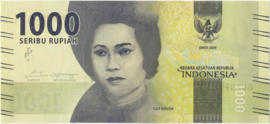 Indonesië Bnew Pnew Hnew 1.000 Rupiah 2016