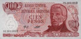 Argentinië P302.b1 100 Pesos 1976-78 (No date)