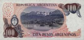 Argentinië  P315 100 Pesos Argentinos 1983-85 (ND)