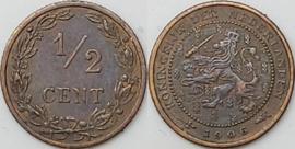 Nederland Sch.1005 1/2 Cent 1906