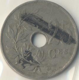 Belgique KM68.1 25 Centimes 1913-1929