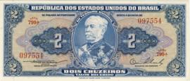 Brazilië P151a 2 Cruzeiros (old) 1954-1958