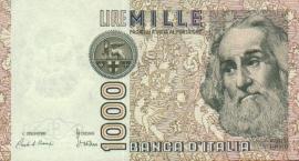 Italië P109 1.000 Lire 1982