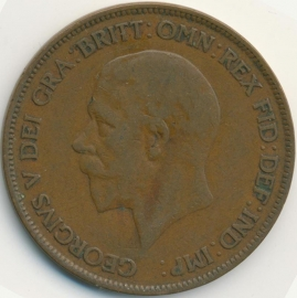 Engeland 1 PENNY 1929 KM# 838