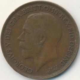 Engeland 1 PENNY 1918 KM# 810
