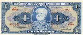 Brazilië P150b 1 Cruzeiro 1954-1958