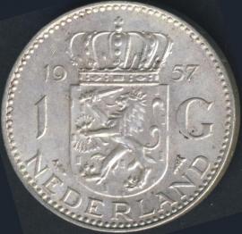 Sch.1105 Zilver 1 Gulden 1957
