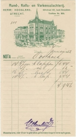 Nederland, Utrecht, Nota, Herms Hoogland, 1922