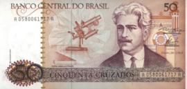 Brazilië P210.a 50 Cruzados 1986-88 (No date)