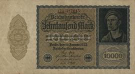 Duitsland Ros.069f: K 10.000 Mark 1922 DEU78c: K