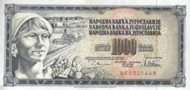 Joegoslavië P92.c 1.000 Dinara 1978