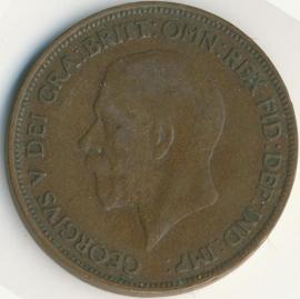 Engeland 1 PENNY 1934 KM# 838