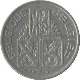 Belgique KM119 1 Franc 1939