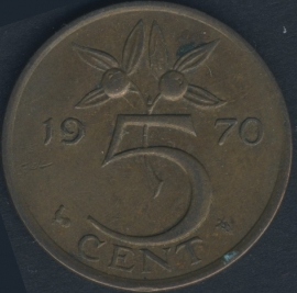 5 Cent 1970a (Year close to '5')